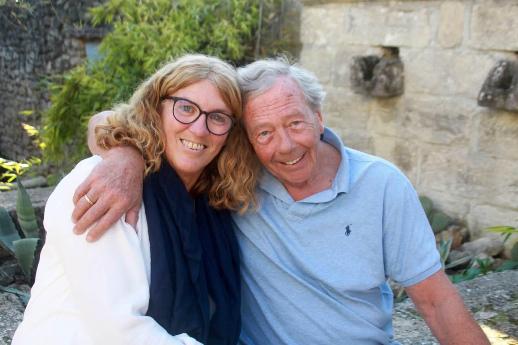 Hans en Monique Eizema van Les Granges du Bosquet