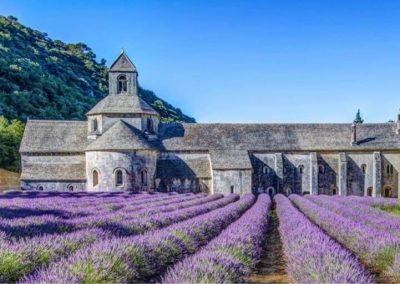 L'abbaye de Senanque in Gordes