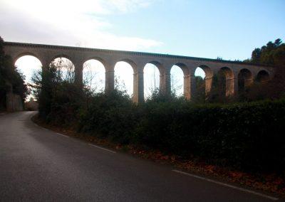 The aqueduct at Fontaine de Vaucluse