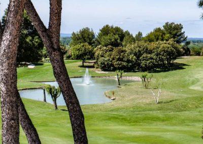 Golf de Saumane, 18 holes